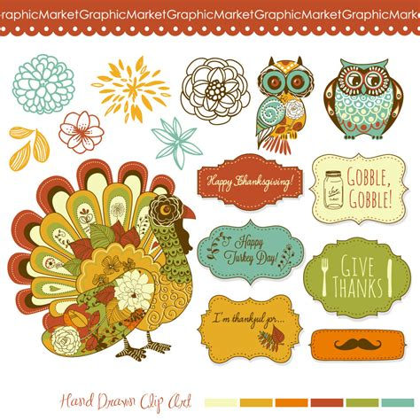free printable fall flowers thanksgiving clip art turkey fall clipart owls clipart