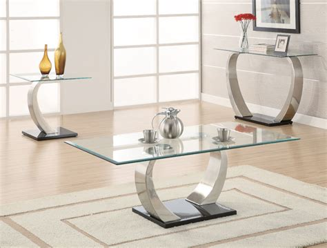 Dining Room Table Accents contemporary glass coffee tables adding more style into