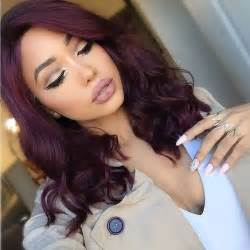 plum black hair color everything you need to about plum hair dailybeautyhack
