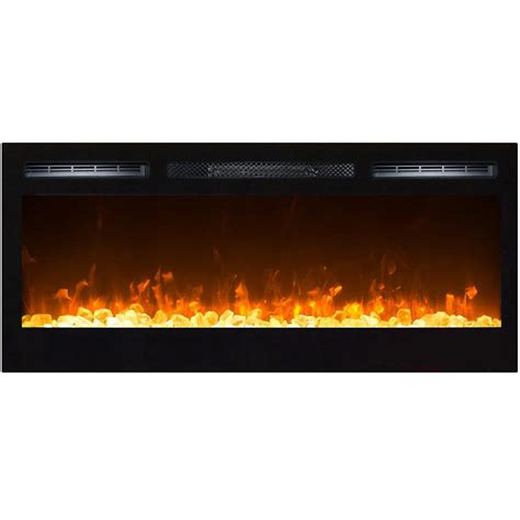 36 inch electric fireplace insert 36 inch recessed wall mounted electric
