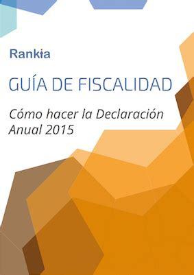 declaracion anual de pensionados 2015 declaraci 243 n anual 2015 m 233 xico