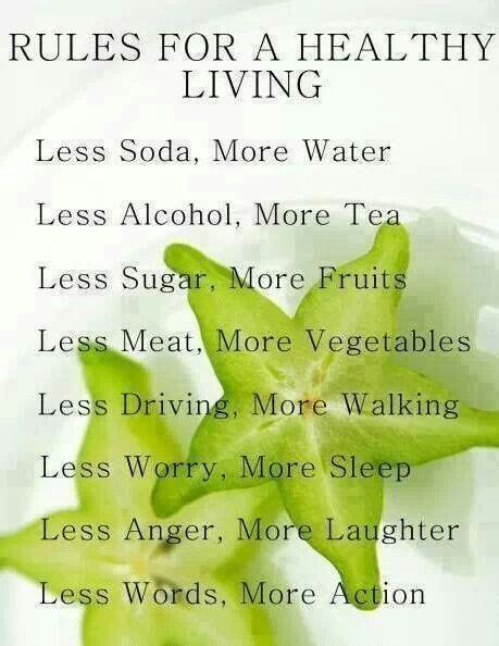 7 Tips On Living A Healthy Lifestyle by For Healthy Living Health Tips