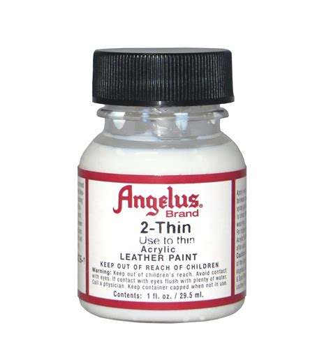 angelus paint stores angelus thinner for leather paint 1 oz ca7202t