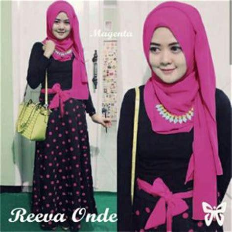 baju muslim setelan 3in1 model terbaru murah ryn
