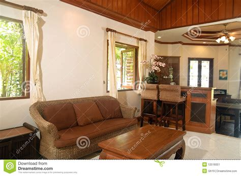 thai living room thai style living room stock image image 12516051