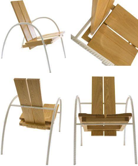 Recycled Rebar Minimalist Metal Indoor Outdoor Furniture » Home Design 2017