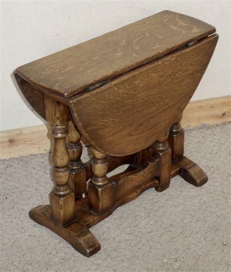antiques atlas small gateleg distressed oak flap coffee