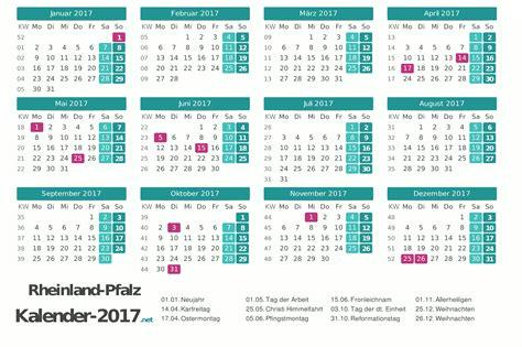 Kalender 2018 Zum Ausdrucken Rheinland Pfalz Feiertage Rheinland Pfalz 2017