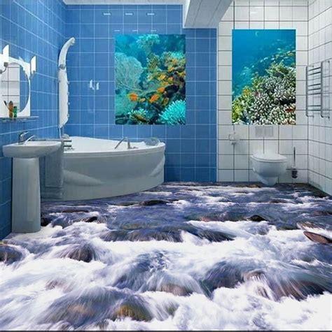 epoxy badezimmerboden free shipping 3d bathroom wall floor self adhesive wall