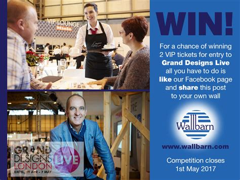 design contest live chat grand designs live competition wallbarn