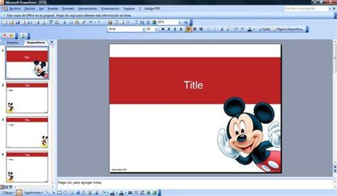mickey mouse powerpoint template background powerpoint mickey mouse www imgkid the