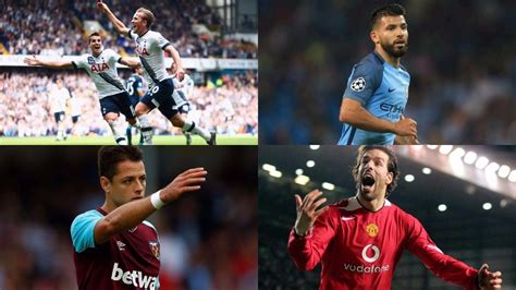 epl goal record top 10 players with best minutes per goal ratio in the
