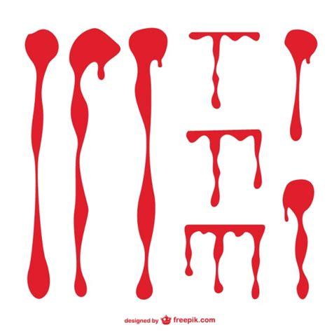 grafica vettoriale macchie di sangue scaricare vettori