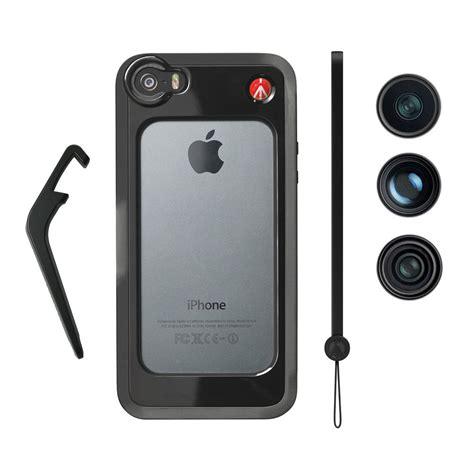 manfrotto klyp case  iphone   fisheye