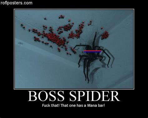 Scary Spider Meme - flusterkuff i like my cigar it has a mana bar
