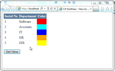 change cell color based on value c gridview how to change cell color based on different