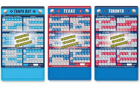 Baseball Calendar Template 2017
