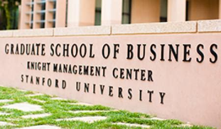 Stanford Graduate School Of Business Mba Eligibility by Mba Program Stanford Graduate School Of Business
