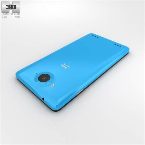 Hp Zte Redbull V5 zte redbull v5 blue 3d model hum3d