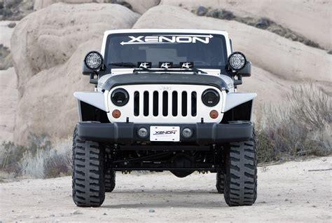Flat Fender Jeep Xenon Flat Fender Style Flare Kit For 07 17 Jeep 174 Wrangler