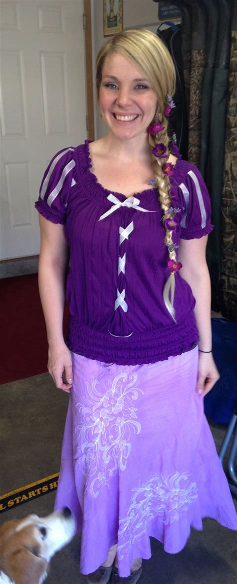 diy adult rapunzel costume tangled  pins disney