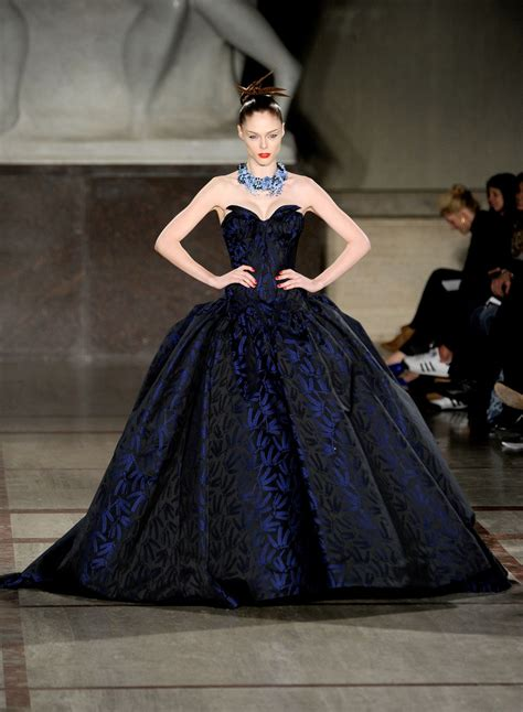 Catwalk To Carpet Bilson In Zac Posen by Coco Rocha Photos Photos Zac Posen Runway Fall 2012