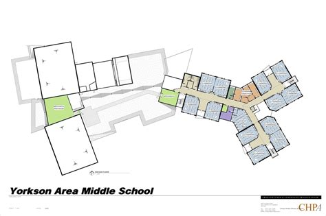 middle school floor plans floor plan yorkson creek middle school