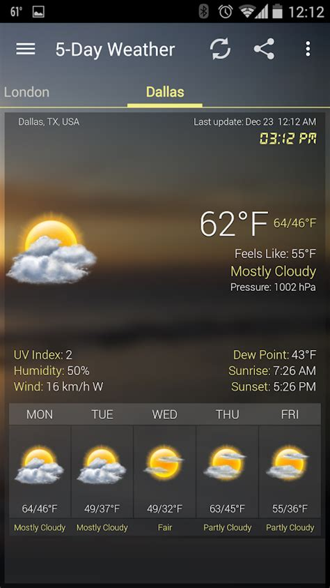 Android Get Current Locale by Weather Clock Widget Android Android Apps On Play
