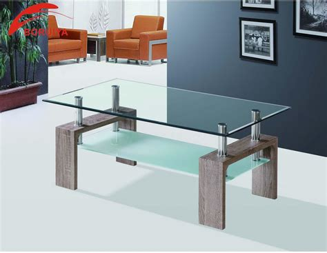 glass center table living room furniture center table design coffee table