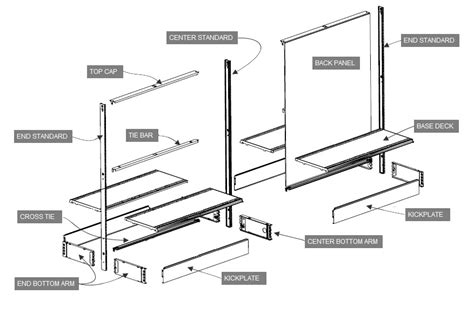 The Shelf Parts by Streater Shelving Parts Midwest Retail Services