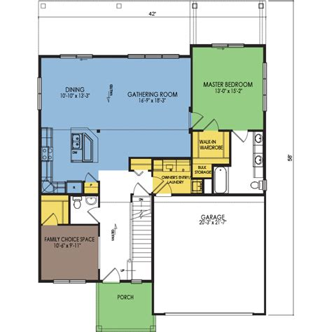 snowbank floor plan 2 beds 2 5 baths 2021 sq ft