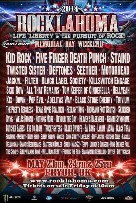 kid rock lineup kid rock deftones motorhead to headline rocklahoma 2014