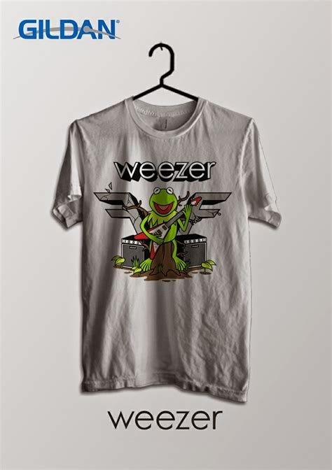 Kaos Band Weezer welcome to bandar kaos metal