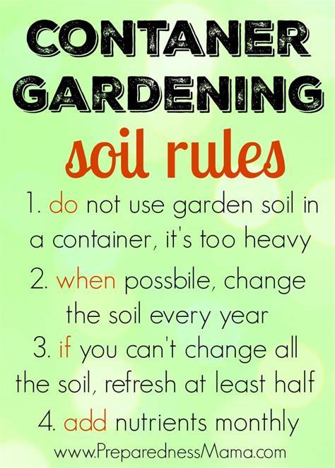 container gardening tricks
