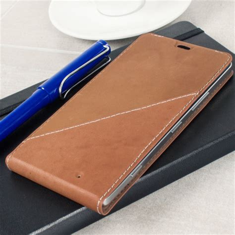 mozo thin flip case for microsoft lumia 950 mozo microsoft lumia 950 xl genuine leather flip cover