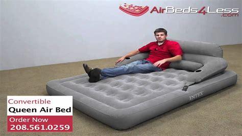 intex convertible lounge cing air bed