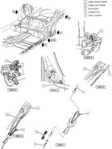 Brake System Routing Repair Guides Parking Brake Cables Autozone