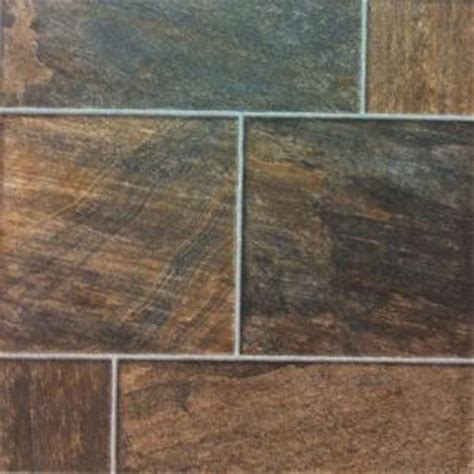 hton bay bronze random slate 10 mm thick x 15 1 2 in