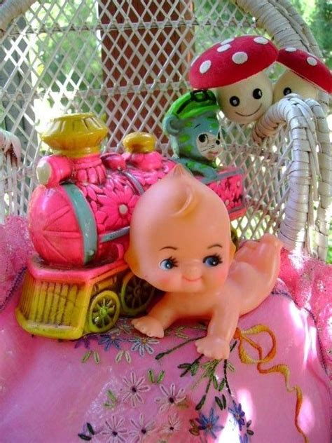 kewpie doll 913 adorable 60s vintage kewpie doll baby collectible by