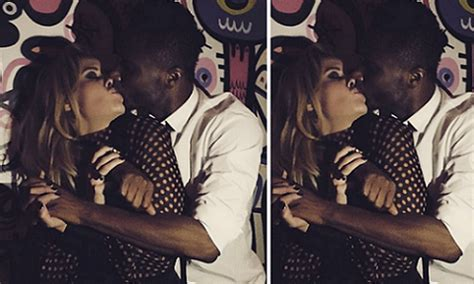 welcome to ladun liadi s aww mikel obi s fiancee congratulates him with a photo