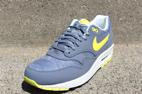 White Gray Sonic Top nike air max 1 prm quot cool grey sonic yellow quot complex