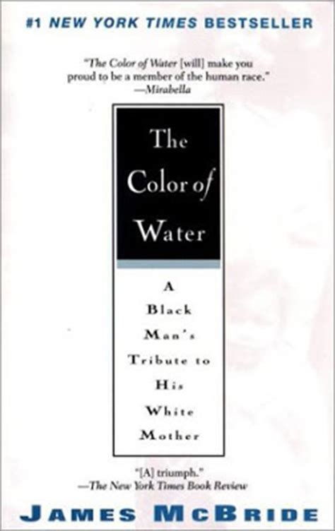 themes in the color of water by james mcbride birmingham public library nonfiction book review the