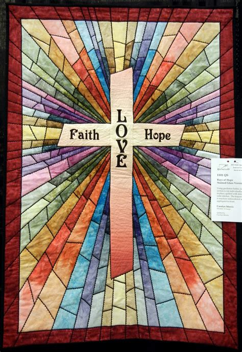 Quilted Church Banner Patterns Free quilt inspiration faith and