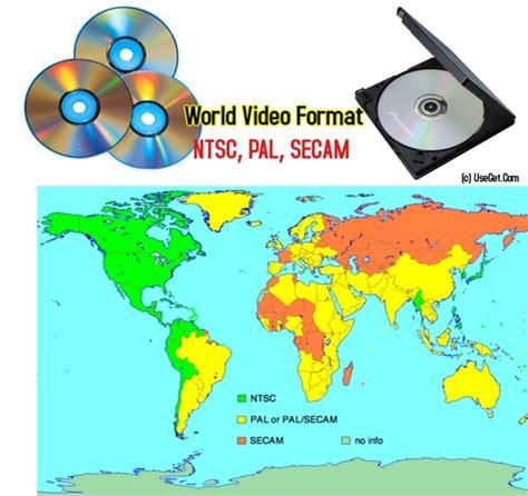jaki format dvd pal czy ntsc world dvd video format ntsc or pal or secam useget com