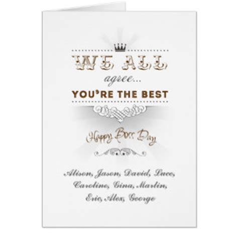 Bosses Day Card Template by Day Cards Day Card Templates Postage