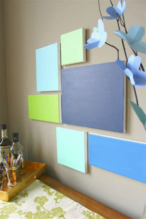 make your own artwork for home decor 20 painted wall ideas the crafty stalker