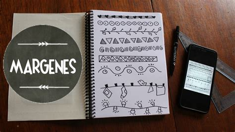 margenes para cuadernos m 225 rgenes para cuadernos apuntes perfectos youtube