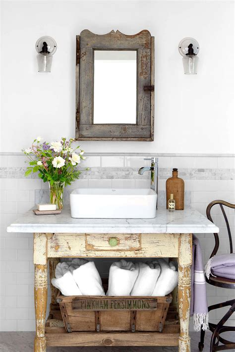 impressive diy rustic farmhouse bathroom vanity ideas