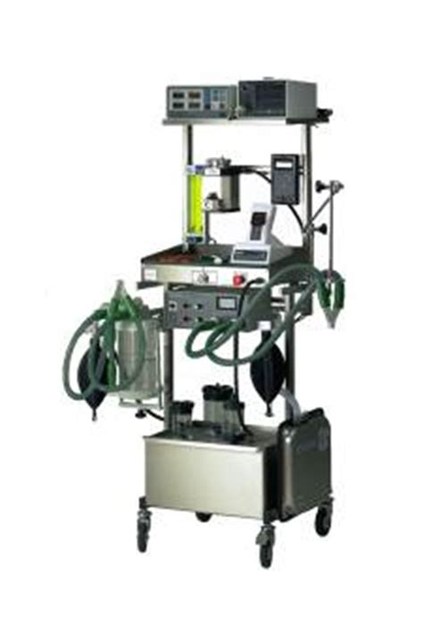 the picture above shows a complete gas anesthesia system