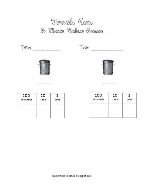 Gamis C 03 trash can place value trt math